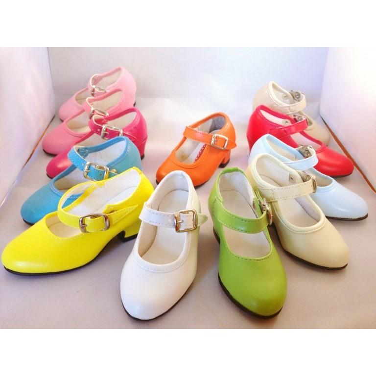 87007ab95 zapatos de gitana o flamenca para feria y romería de todos los colores