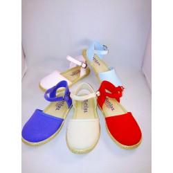 Zapatillas de esparto para niñas de Batilas